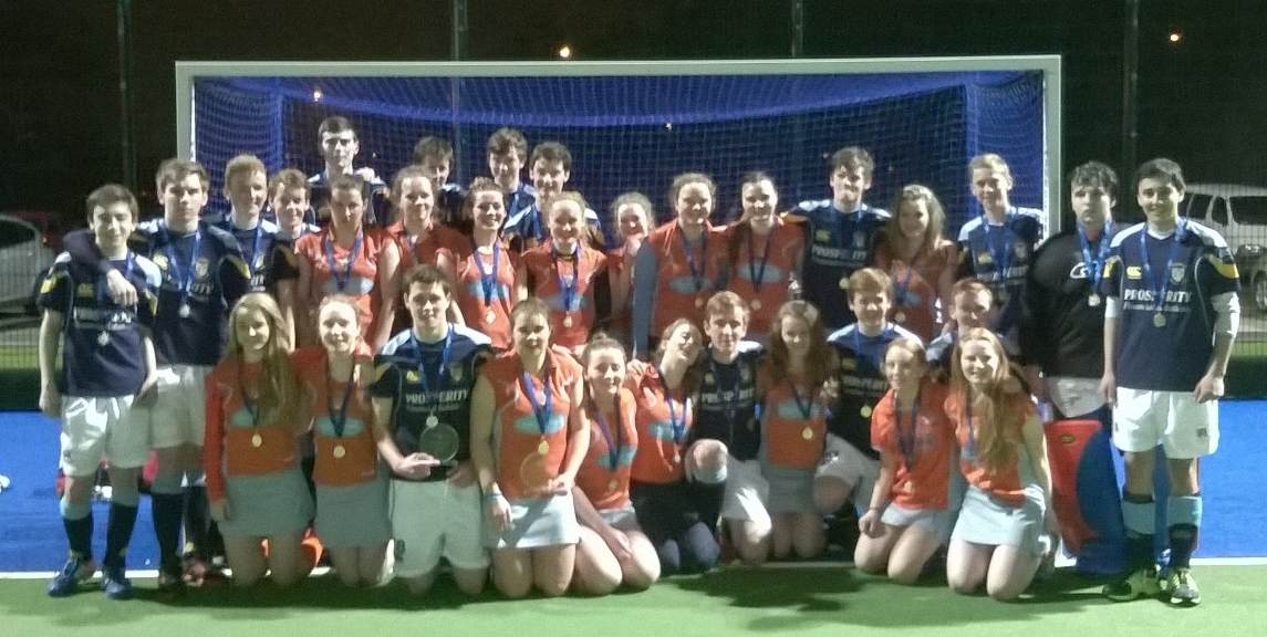 Under 18 success for boys and girls in cup/plate double