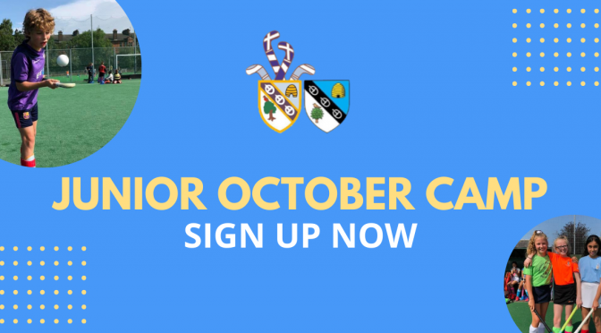 October Camp – 12th-16th October – Sign up now!