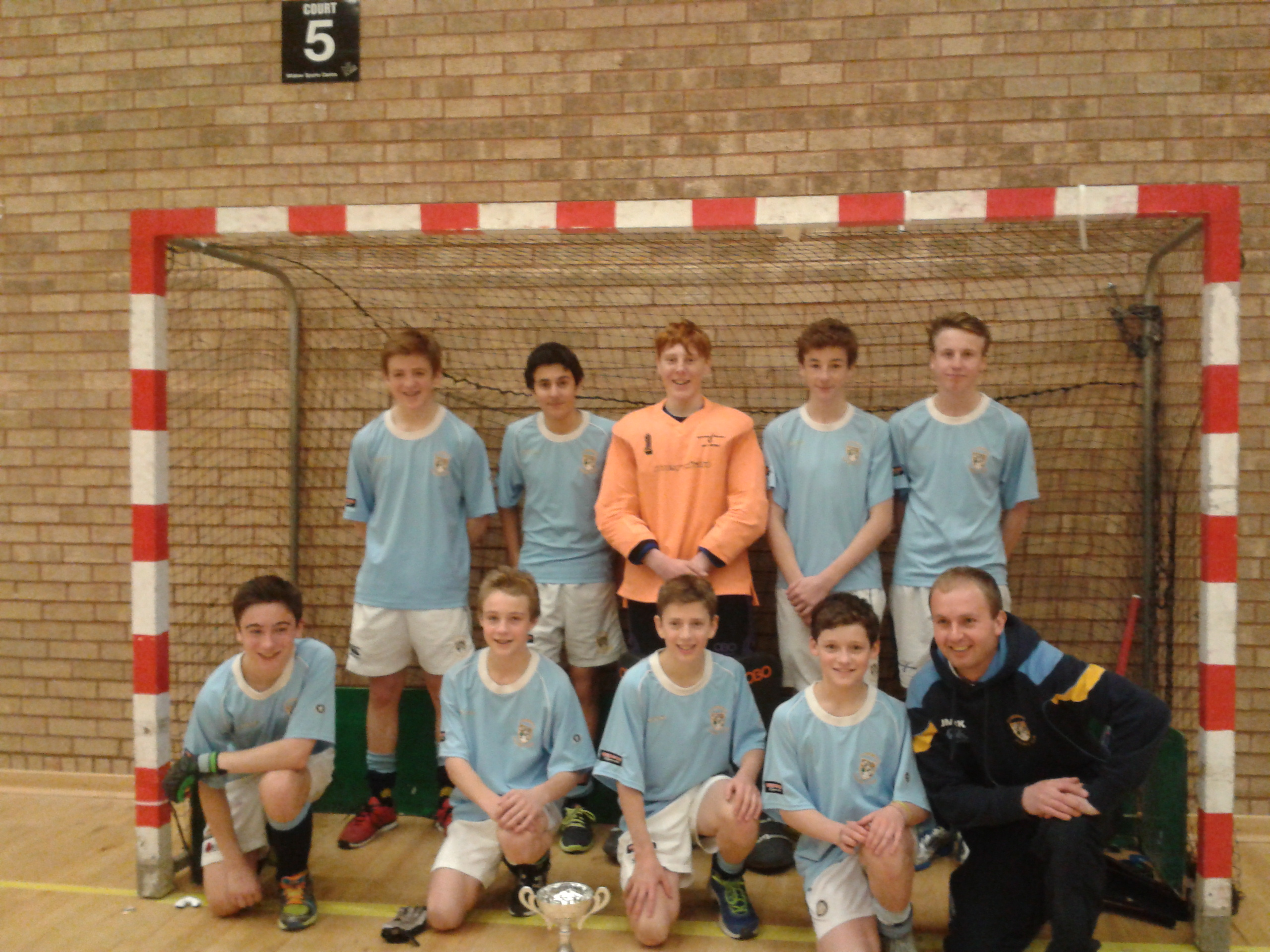 Clydesdale Boys retain u16 West District Indoor Cup