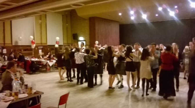 Great night at the ceilidh